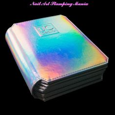 Nail Art Stamping Mania: Holographic Nail Stamp Plate Storage Folder from UberChic Beauty