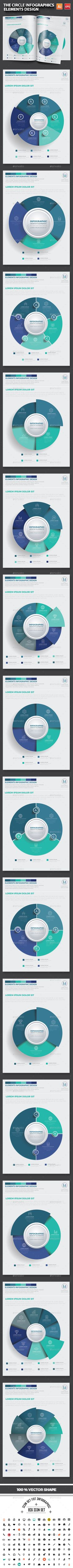 The Circle Infographic Design