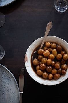 caramel potatoes from The Wall Street Journal article about Rene Redzepi