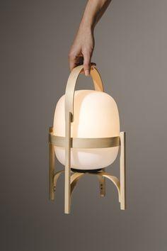 Table lamps Cestita Batería