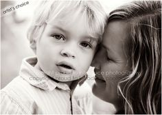 love this mother and son portrait