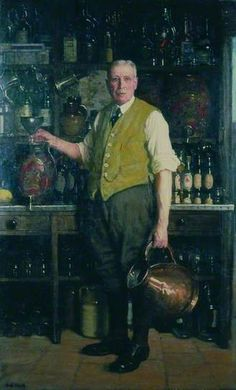 The Landlord, 1935 by Frederick Elwell (1870-1958)