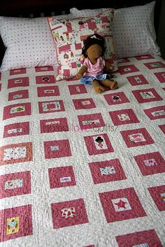 mamalove quilts I Spy Quilt - Google Search