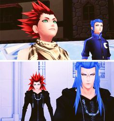 """I miss Isa."" -Yuki ""I'm still here."" - Saix ""Your not Isa. I don't know who you are anymore."" - Yuki"