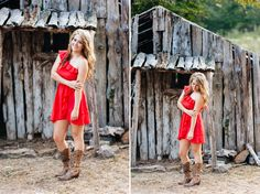 Michelle Edmonds Photography // Arkansas senior photography bull shoals white river state park gastons resort nature trail old rustic barn country