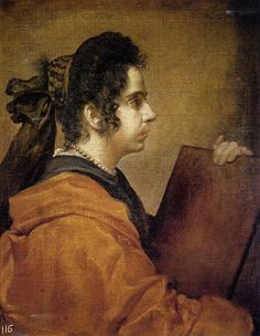 A Sibyl  Artist: Diego Velazquez  Start Date: 1630  Completion Date:1631  Style: Baroque  Genre: mythological painting  Technique: oil  Material: canvas  Dimensions: 50 x 62 cm  Gallery: Museo del Prado, Madrid, Spain
