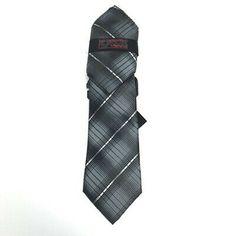 Steven Land Tie Pocket Square for Men Black Gray Silver Microfiber Classic | eBay Black And Grey, Black Silver, Tie And Pocket Square, Blue Orange, Red And Blue, Charcoal Gray, Neck Ties, Ebay, Men