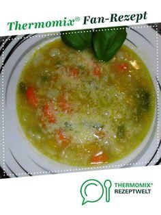 """MINESTRONE - """"So koche ich gerne"""" von Thermifee. Ein Thermomix ® Rezept aus der Kategorie Suppen auf www.rezeptwelt.de, der Thermomix ® Community."""