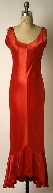 Evening ensemble Designer: Elsa Schiaparelli  Date: 1933–35 Culture: French Medium: synthetics, silk Accession Number: 1977.201.11a–c