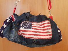 Kugeltasche von Farbenmix Gym Bag, Handmade, Bags, Fashion, Dime Bags, Handbags, Moda, Fasion, Totes
