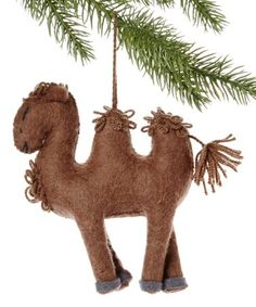 Another great find on #zulily! Camel Handmade Wool Ornament #zulilyfinds