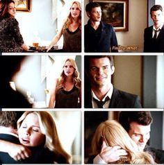 The Originals - Klaus (Joseph Morgan), Elijah (Daniel Gillies) and Rebekah (Claire Holt)