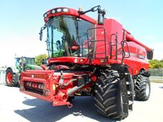 Here a very nice photo of a #CASE IH combine harvester! Other makes and models of #combine harvesters at http://www.agriaffaires.co.uk/used/1/combine-harvester.html