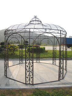 ceremony - iron gazebo