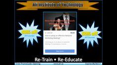 AIT Online Training Institute - Re-Train Re-Educate Our web based training classes and online courses help you to advance your skills. Training School, Training Classes, Online Courses, Ali, Technology, Education, Tech, Tecnologia, Teaching