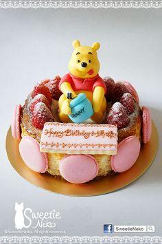 Winnie the Pooh Cheesecake  http://www.facebook.com/SweetieNeko