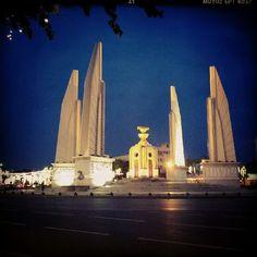 Democrat monument, Bangkok