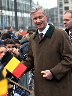 King Philippe and Queen Mathilde pictured during their visit of the province Flemish Brabant. Visit of Videohouse, firm located in Vilvoor...