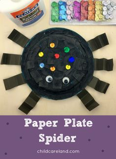 Great for fine motor skills. Fall Crafts For Toddlers, Easy Fall Crafts, Halloween Crafts For Kids, Crafts For Kids To Make, Halloween Art, Doilies Crafts, K Crafts, Preschool Projects, Classroom Crafts