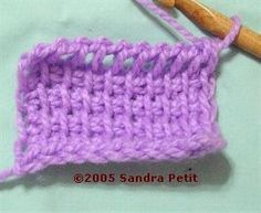 Tunisian Crochet (Afghan Stitch)
