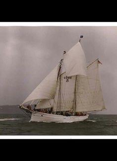 Sterling Hayden's sailboat