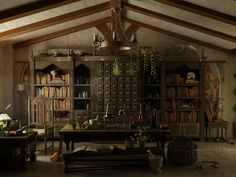 The Apothecary by Rachel Silvera... an old world lab.