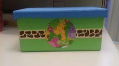 Caja de madera Para toallitas húmedas Baby