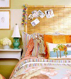 decoración cabecero cama original headboard decoration miraquechulo