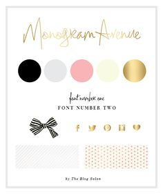 Blog Design for Monogram Avenue