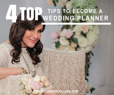 4 Top Tips to Become a Wedding Planner in Australia!  Mindy Weiss is a Top International Wedding Planner, and we take some of her top tips to making it in the Wedding Industry!  Click here for full article: http://lamodecollege.com/4-tips-to-become-a-wedding-planner-australia/