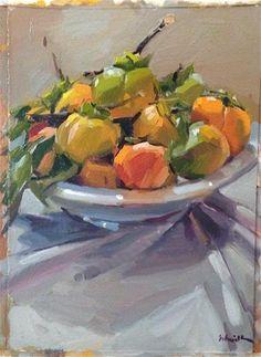 DPW Fine Art Friendly Auctions - Persimmon Plenty by Sarah Sedwick