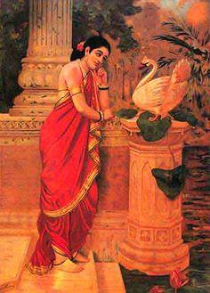 Raja_Ravi Varma_Painting_Hamsa_Damayanthi.jpg (362×505)
