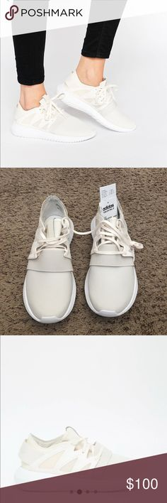 Adidas originals chalk white tubular viral trainer Uk7/us8 1/2 they are new with tags. adidas Shoes Sneakers