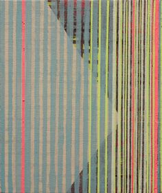 """Misato Suzuki, """"Light Rain""""  2011 12"""" x 10""""  Acrylic on Canvas"""