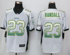 Men NFL Nike Green Bay Packers  23 Damarious Randall Drift Fashion White  Elite… Cheap 6756cedd5