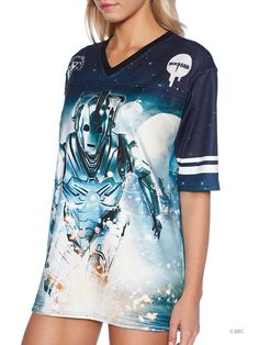 Cyberman Touchdown (WW ONLY $120AUD) by Black Milk Clothing
