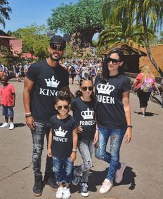 King Queen Prince Princess Crowns Matching Family Shirts - Family Shirts - Ideas of Family Shirts - King Queen Prince Princess Family Shirts Matching Family Shirts. These bestseller shirts are a perfect outfit for you and your loved ones. Cute Couple Shirts, Matching Couple Shirts, Matching Family Outfits, Matching Couples, Matching Clothes, Mother Daughter Outfits, Mommy And Me Outfits, Couple Outfits, Couple Clothes