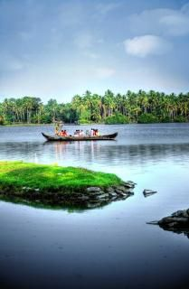 Back water in Kerala