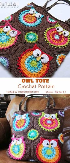 5 Owl Bag Free Crochet Patterns and The Best Ideas 2019 Owl Tote Crochet Pattern The post 5 Owl Bag Free Crochet Patterns and The Best Ideas 2019 appeared first on Bag Diy. Crochet Shell Stitch, Crochet Tote, Crochet Handbags, Easy Crochet, Free Crochet, Crochet Owl Purse, Owl Crochet Patterns, Owl Patterns, Crochet Owl Blanket Pattern
