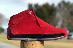 New Images Of The Air Jordan 18 Toro That Drops Next Month