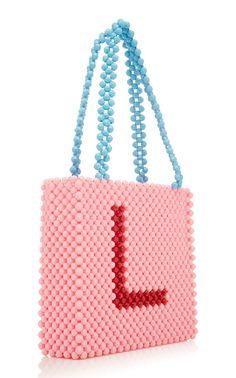Click product to zoom Beaded Clutch, Beaded Purses, Beaded Bags, Diy Bags Purses, Custom Bags, Knitted Bags, Bead Art, Bead Crafts, Handmade Bags