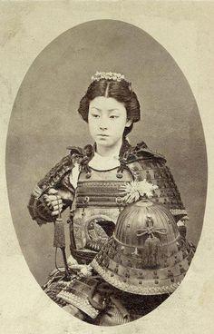 bir kadın samuray