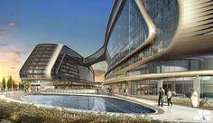 Sky SOHO, biểu tượng mới của Thượng Hải? - Zaha Hadid - Việt Architect
