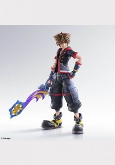 Square Enix Kingdom Hearts III: Sora Play Arts Kai Action Figure From Square Enix. From the latest chapter in the globally beloved Kingdom Hearts series by Sora Kingdom Hearts, Otaku, Pvc Paint, Kindom Hearts, Anime Figurines, Mode Shop, After Life, Best Games, Action Figures
