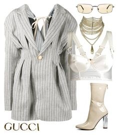 Featuring Jacquemus, Bordelle, Christian Dior, Versace and Gucci Kpop Fashion Outfits, Stage Outfits, Edgy Outfits, Classy Outfits, Polyvore Outfits, Polyvore Fashion, Mode Blog, Diy Schmuck, Aesthetic Clothes