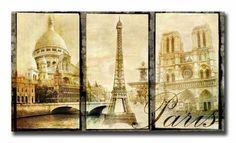 8410465 / Cuadro Paris vintage