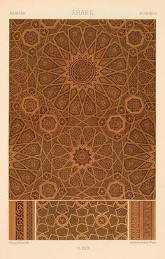 Dufour & Bauër Lithography: Arabian Art via The New York Public Library