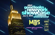 GLNY Showcase @ National Underground 1/5/13 W/ MitiS, Chaisley Lussier, Horizon Wireless, Narkatta, Bass Control, Wallnuttz, & Mahi