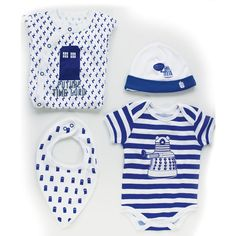 Doctor Who: Baby 4 Piece Starter Set - 0-3 Months. £28.00. Other sizes also available.