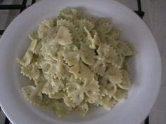 farfalle con crema di zucchine